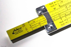 Pickett Slide Rule
