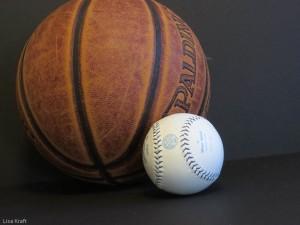 Basketball and baseball