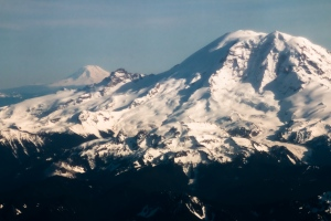 Mt Rainier and Mt Adams